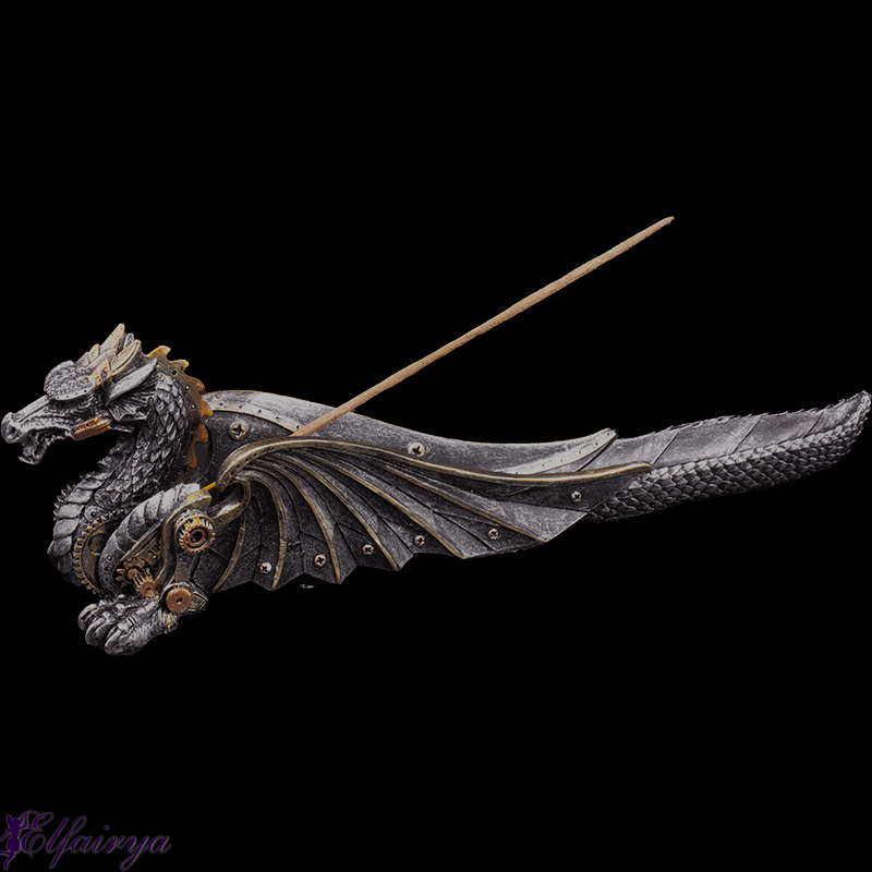 "Incense stick holder ""Steampunk Dragon"""